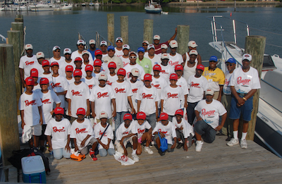 Academic Anglers Children's Fishing Clinic 2008